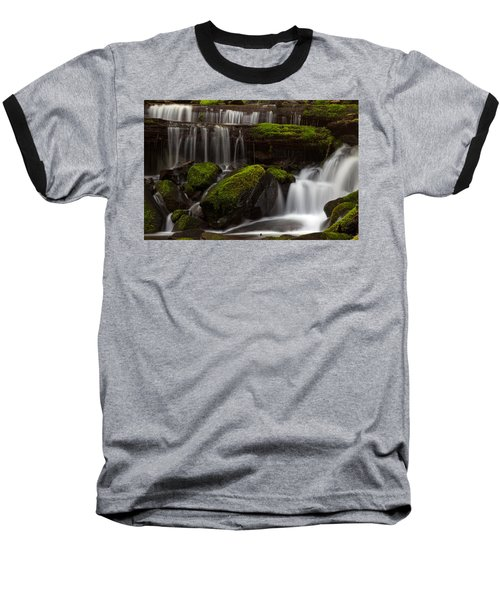 Olympics Gentle Stream Baseball T-Shirt by Mike Reid