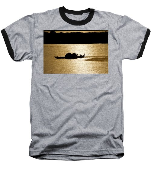 On Golden Waters Baseball T-Shirt