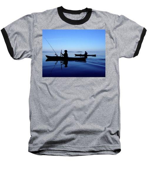 On The Deep Blue Sea Baseball T-Shirt