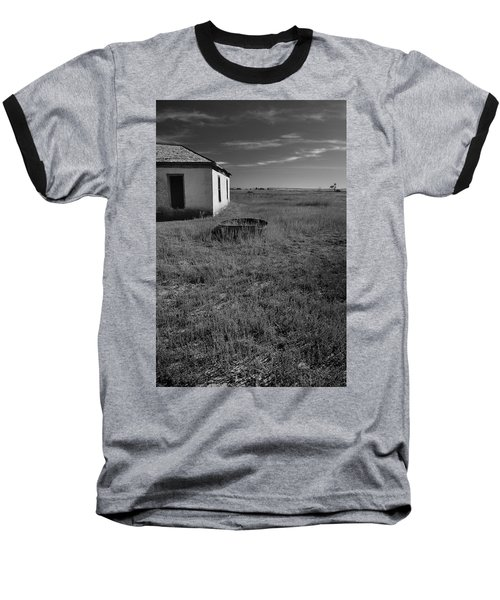 Baseball T-Shirt featuring the photograph On The Hi-lo Plains by Ron Cline
