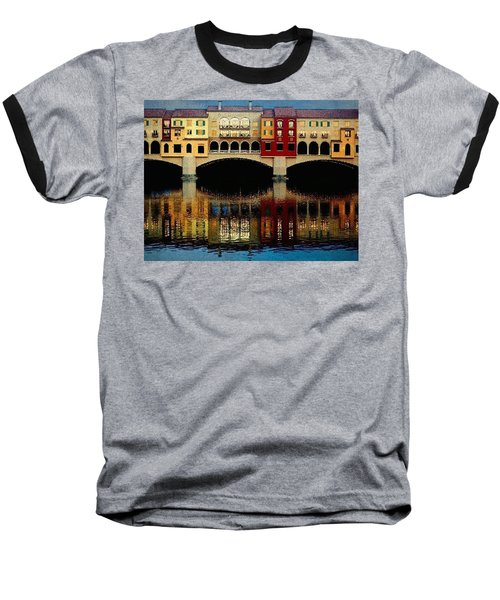 Baseball T-Shirt featuring the photograph On The Lake by Tammy Espino