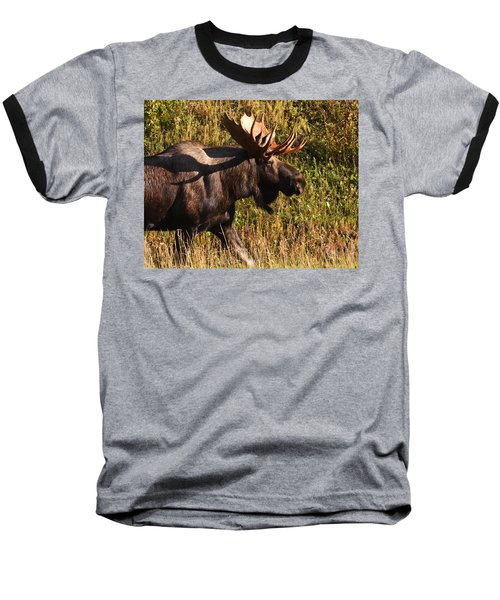 Baseball T-Shirt featuring the photograph On The Move by Doug Lloyd