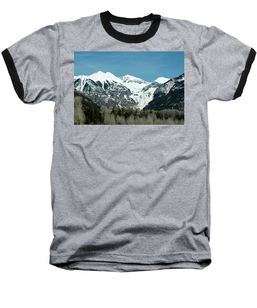On The Road To Telluride Baseball T-Shirt