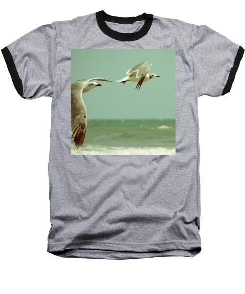 On The Wings Of A Seagull Baseball T-Shirt