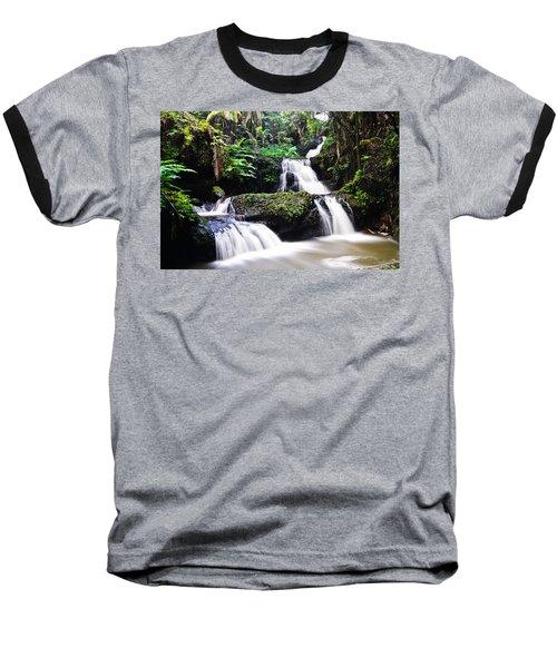 Onomea Falls Baseball T-Shirt