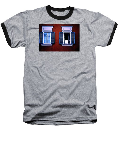 Open Window Baseball T-Shirt