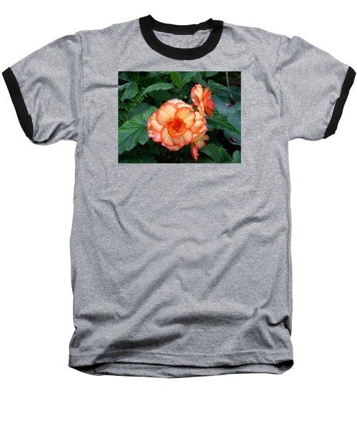 Baseball T-Shirt featuring the digital art Orange Spectacular by Claude McCoy