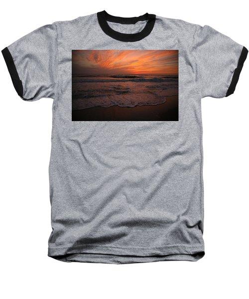 Orange To The End Baseball T-Shirt