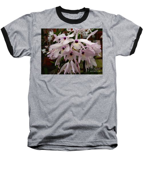 Baseball T-Shirt featuring the photograph Orchids Beauty by Donna Brown