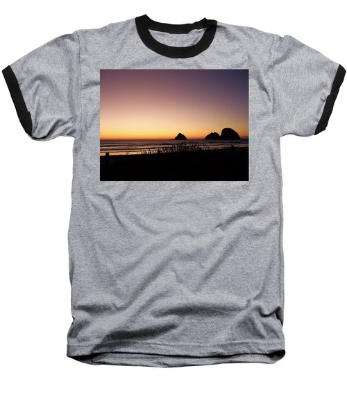 Oregon Coast 16 Baseball T-Shirt