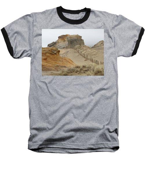 Baseball T-Shirt featuring the photograph Oregon Sand Dunes by Athena Mckinzie