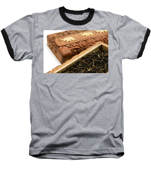Ornate Box With Darjeeling Tea Baseball T-Shirt