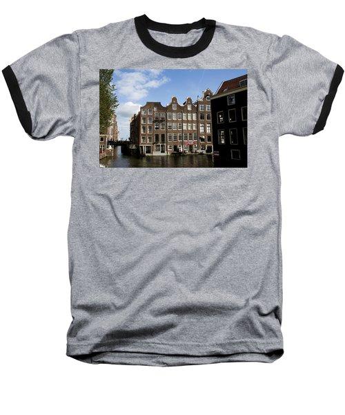 Oudezijds Voorburgwal Baseball T-Shirt