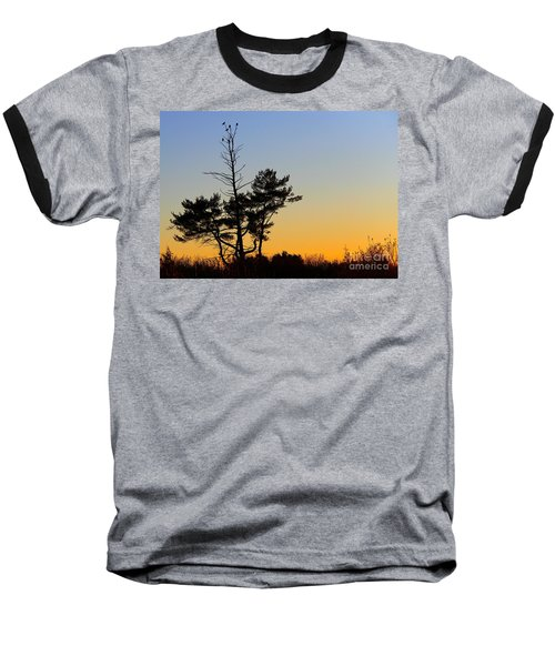 Out On A Limb Baseball T-Shirt by Davandra Cribbie