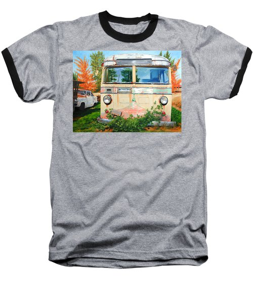 Out Where The Buses Don't Run Baseball T-Shirt
