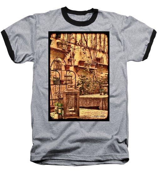 Outside Tables Baseball T-Shirt