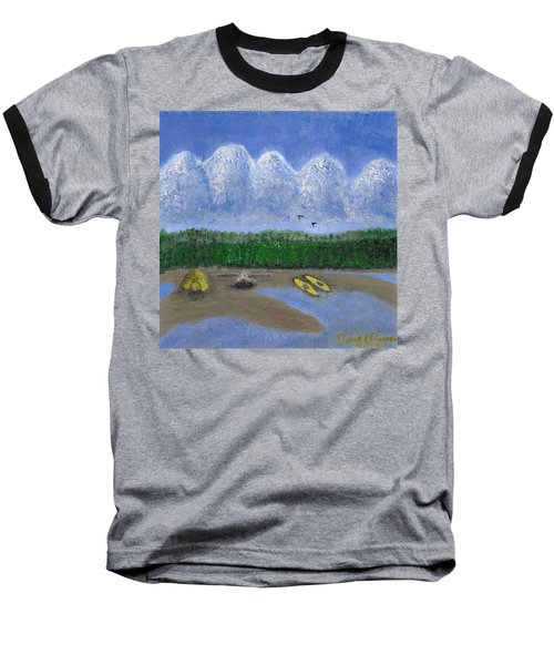 Pacific Northwest Camping Baseball T-Shirt