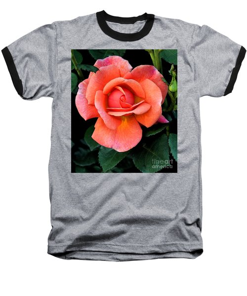 Baseball T-Shirt featuring the photograph Painted Rose by Cindy Manero
