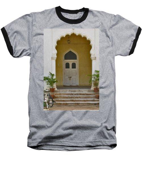 Baseball T-Shirt featuring the photograph Palace Door by David Pantuso
