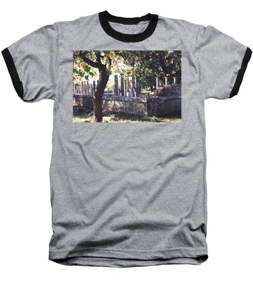 Baseball T-Shirt featuring the photograph Palestra Olympic Site Greece by Tom Wurl