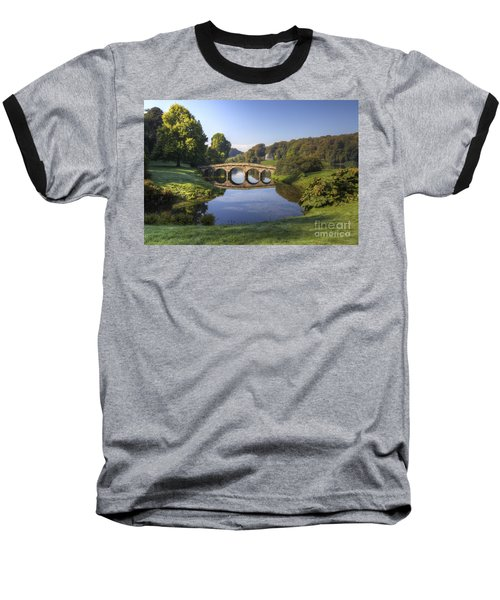 Palladian Bridge At Stourhead. Baseball T-Shirt