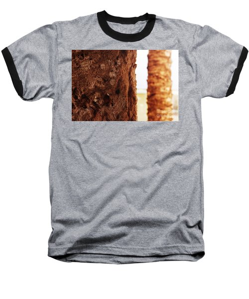 Palm And Wall 2 Baseball T-Shirt