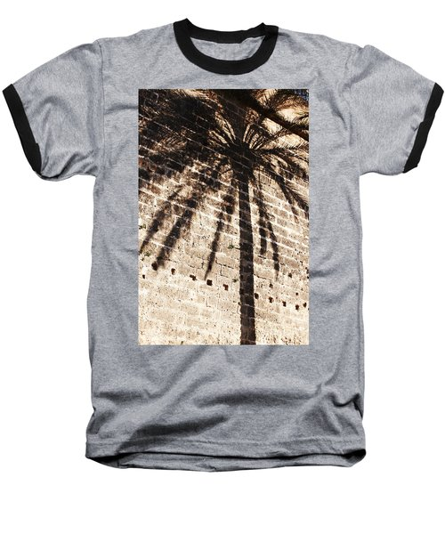 Palm Shadow Baseball T-Shirt