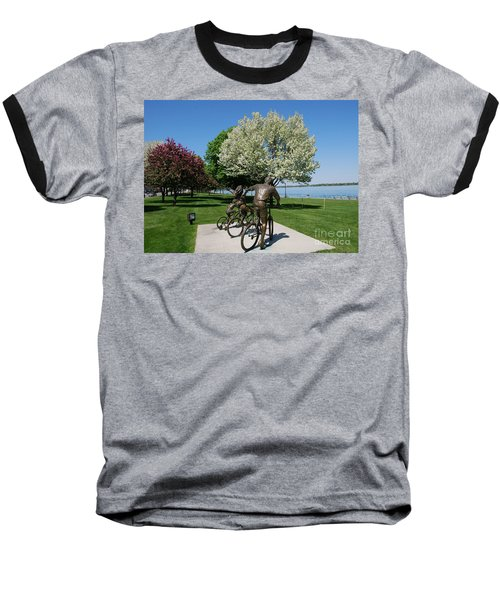 Palmer Park In Spring 2 Baseball T-Shirt