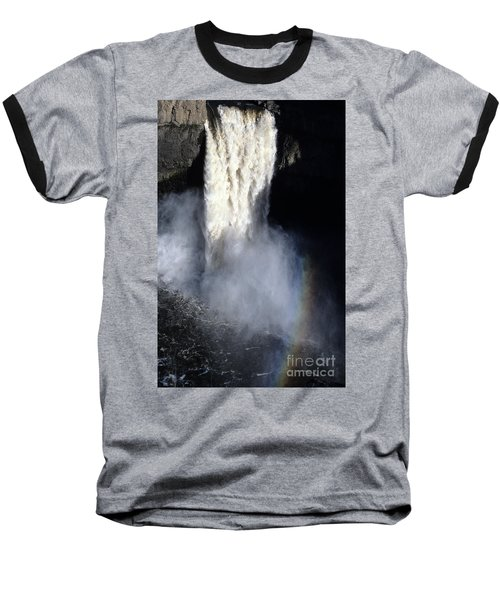 Baseball T-Shirt featuring the photograph Palouse Falls by Sharon Elliott