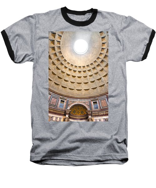 Baseball T-Shirt featuring the photograph Pantheon  by Luciano Mortula