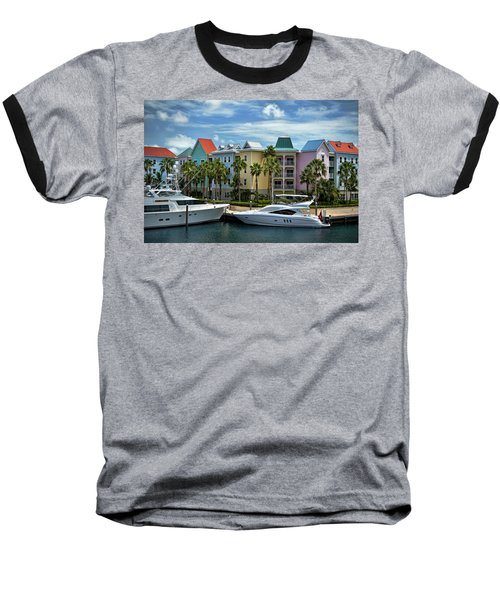 Baseball T-Shirt featuring the photograph Paradise Island Style by Steven Sparks