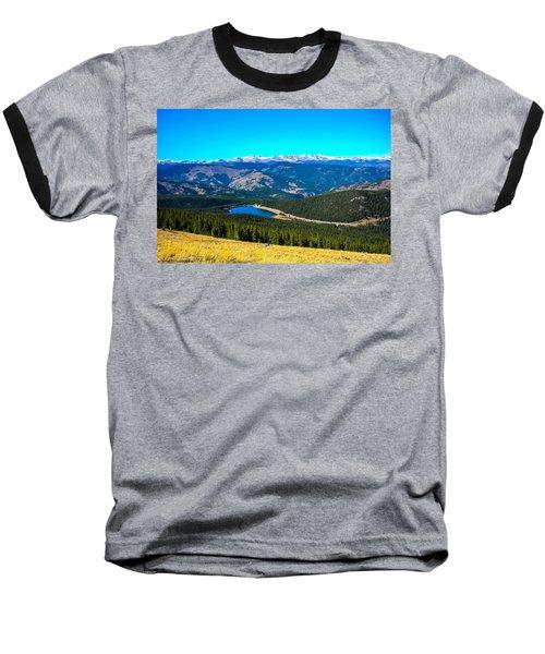 Baseball T-Shirt featuring the photograph Paradise by Shannon Harrington