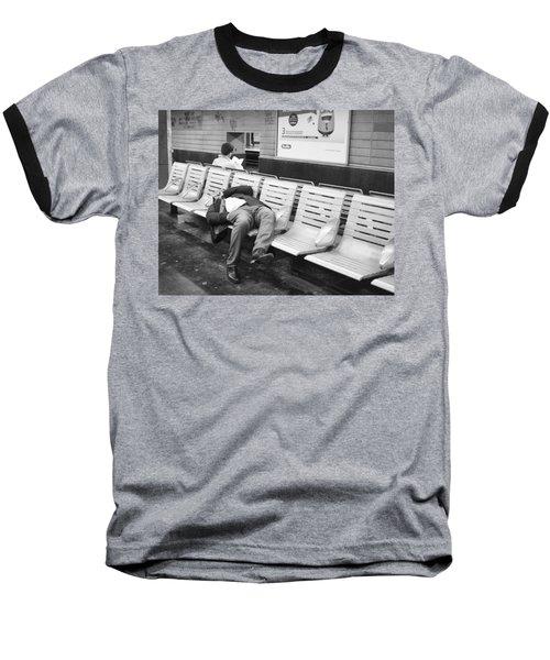 Baseball T-Shirt featuring the photograph Paris Metro by Hugh Smith