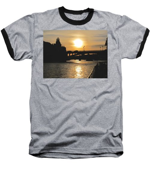 Parisian Sunset Baseball T-Shirt