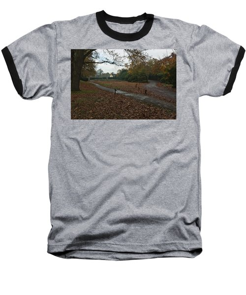 Baseball T-Shirt featuring the photograph Park Cottage 2 by Maj Seda