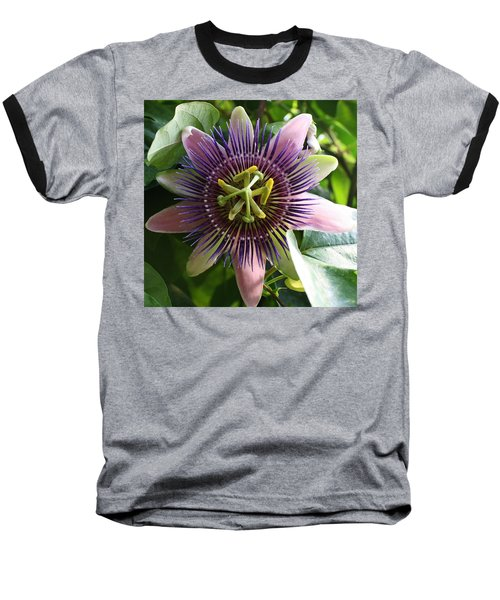 Baseball T-Shirt featuring the photograph Passion Flower 2 by Bruce Bley