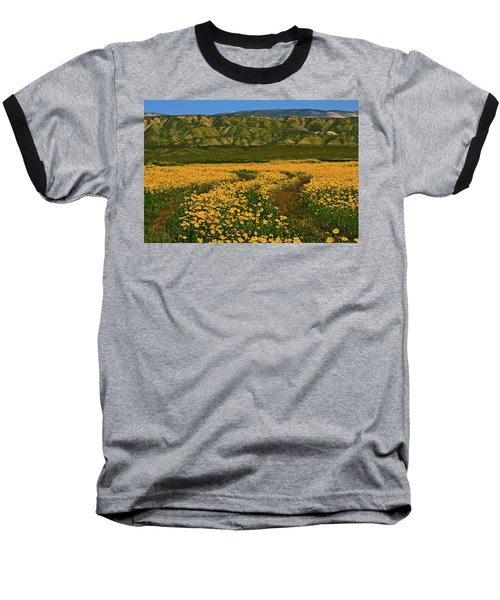 Path Through The Wildflowers Baseball T-Shirt