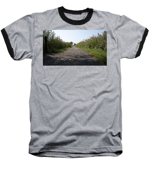 Baseball T-Shirt featuring the photograph Path To The Bay by Charles Kraus