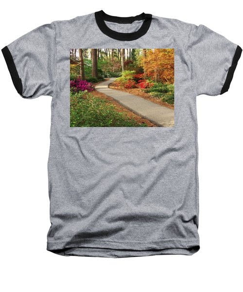 Peaceful Path Baseball T-Shirt