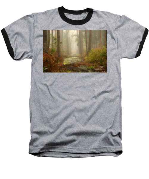 Peaceful Pathway Baseball T-Shirt
