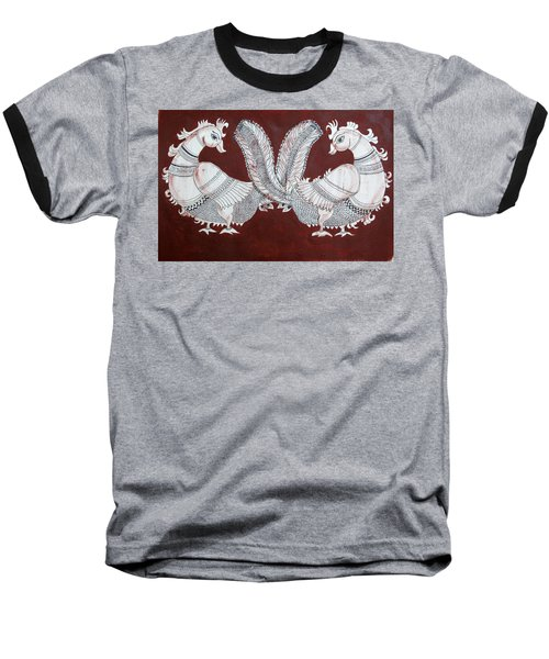 Peacocks Baseball T-Shirt