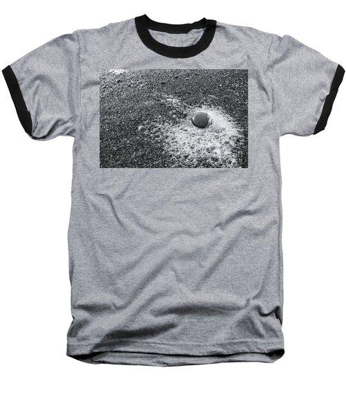 Pebble On Foam Baseball T-Shirt