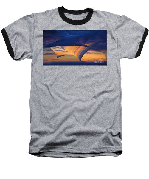 Baseball T-Shirt featuring the photograph Peeling Back The Layers by Clare Bambers