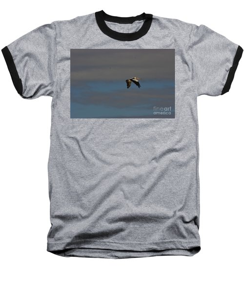 Baseball T-Shirt featuring the photograph Pelican In Flight 4 by Blair Stuart
