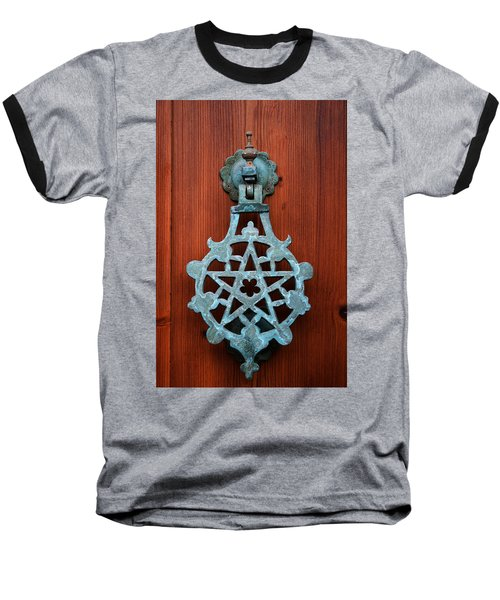 Pentagram Knocker Baseball T-Shirt