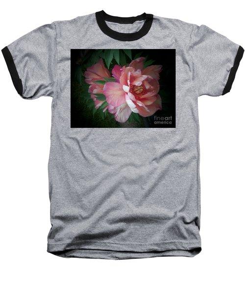 Peonies No. 8 Baseball T-Shirt