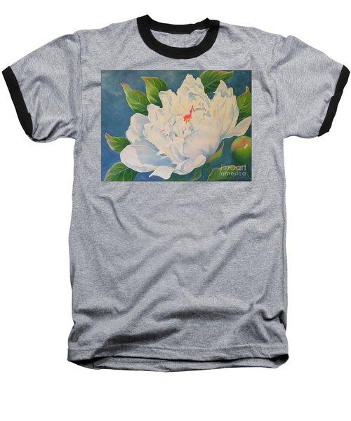 Peonies Baseball T-Shirt