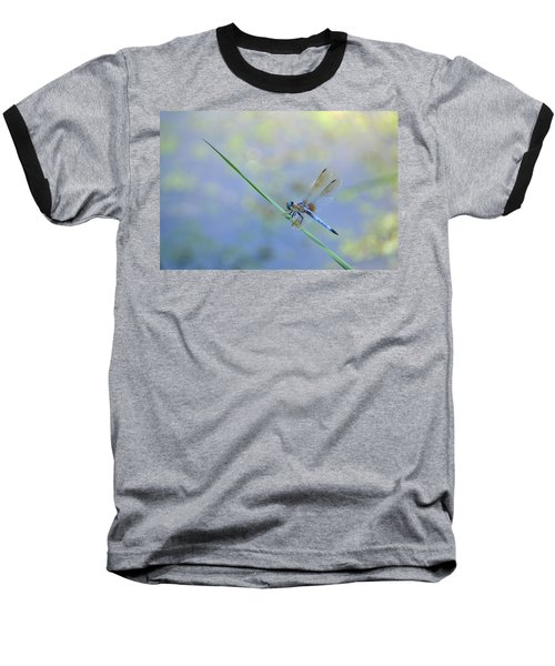 Baseball T-Shirt featuring the photograph Perched Dragon by JD Grimes