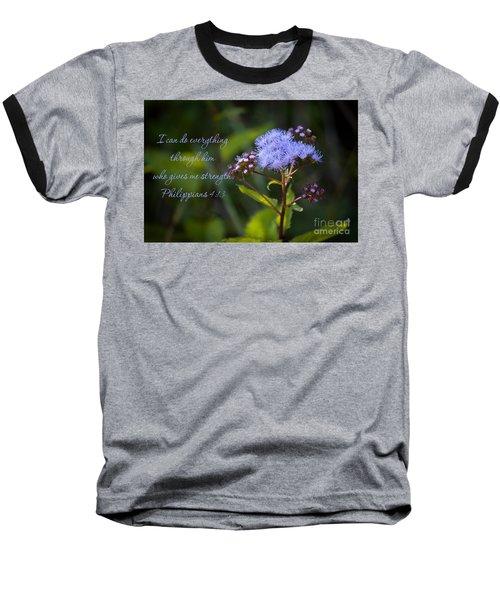Philippians Verse Baseball T-Shirt
