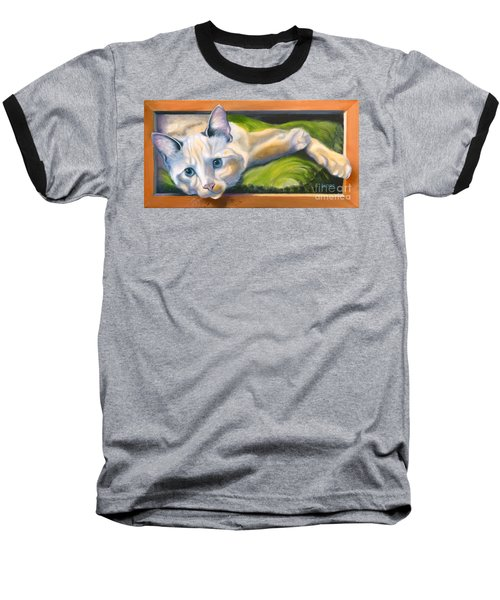 Picture Purrfect Baseball T-Shirt